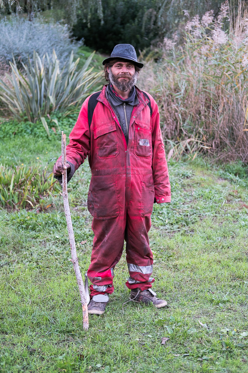Cristian es un homeless Rumano que vive en el bosque de Montjüic | Cristian is a Romanian homeless who lives in Monjuic´s forest