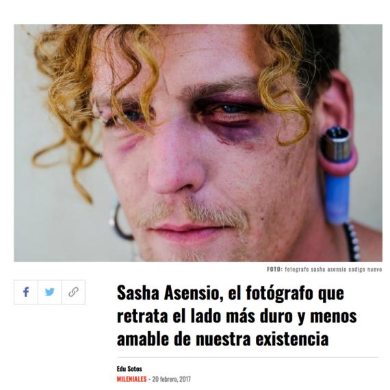 Código Nuevo Sasha Asensio