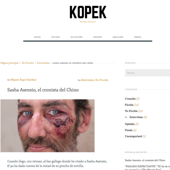 Entrevista Revista Kopek